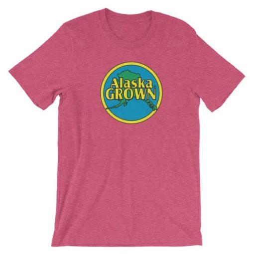 Alaska Grown T-Shirt (Pink)